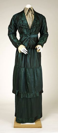 Ensemble 1910, Italian, Made of silk