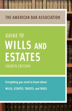 86 best books to read images on pinterest books to read libros american bar association guide to wills and estates fourth edition an interactive guide to preparing your wills estates trusts and taxesamerican bar fandeluxe Image collections