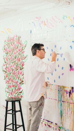 We don't advocate breaking the law—but that's kind of how our latest collaboration with street artist Michael De Feo (aka @theflowerguy) came about. Read more on jcrew.com/blog.
