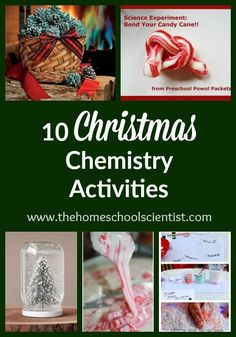 Christmas Chemistry activities and experiments