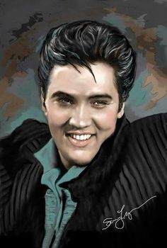 Elvis art Sara Lynn Sanders. Elvis Aaron Presley - January 8, 1935 Tupelo, Mississippi, U.S. Died August 16, 1977 (aged 42) Memphis, Tennessee, U.S. Resting place Graceland, Memphis, Tennessee, U.S. Education . L.C. Humes High School Occupation Singer, actor Home town Memphis, Tennessee, U.S. Spouse(s) Priscilla Beaulieu (m. 1967; div. 1973) Children Lisa Marie Presley