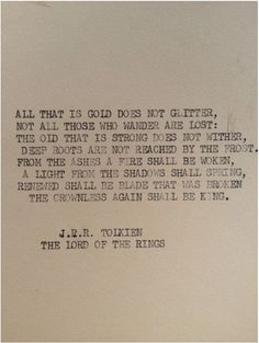 """"""" from the ashes a fire shall be woken.. """" -tlotr-"""