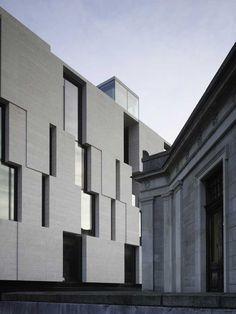 subtilitas: McCullough Mulvin - The Long Room Hub, Trinity College, Dublin 2010. Via.  Old and new.
