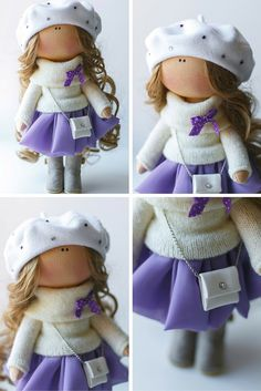Lady doll tilda doll Art doll handmade blonde by AnnKirillartPlace