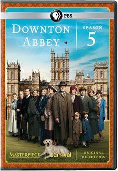 Downton Abbey Season 5 on DVD