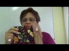 Carteira Multiuso - Essa carteira pode ser feita do tamanho que você desejar. Glenda Valente