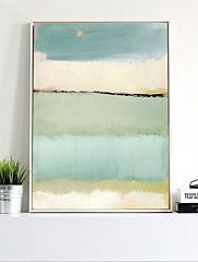 Bande+dessinée+Peinture+a+l'huile+Art+mural,Alliage+Matériel+Avec+Cadre+For+Décoration+d'intérieur+Cadre+Art+Salle+de+séjour+–+EUR+€+70.19