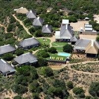 Stunning luxury bush chalet accommodation in Addo close to Addo Elephant National Park, Eastern Cape, South Africa.