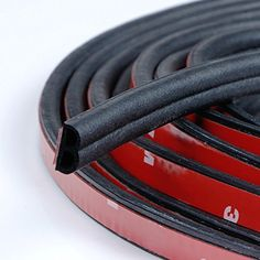 Loobani Self Adhesive Automotive Rubber Seal Strip Weatherstrip for Car Window Door Engine Cover B Shape 5M  * Want additional info? Click on the image.