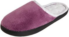 ISOTONER Women's Microterry Chukka Clog Slippers Violet L... https://www.amazon.com/dp/B00LHD7EO4/ref=cm_sw_r_pi_dp_x_iQz7xbXRZZ95Y