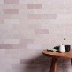 Oasis Pink Ceramic Tiles | Ca' Pietra