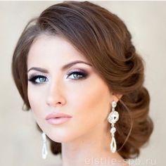 Beautiful makeup and updo