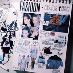Fashion sketchbook ideas mood boards art ideas for 2019 Fashion Sketchbook, Fashion Illustration Sketches, Fashion Design Sketches, Sketchbook Layout, Textiles Sketchbook, Sketchbook Inspiration, Sketchbook Ideas, Fashion Collage, Fashion Art