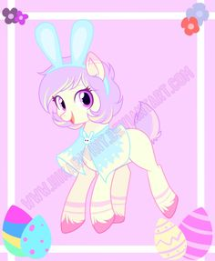 Easter Pony Auction (CLOSED) by hikariviny.deviantart.com on @DeviantArt