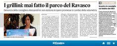 #26gennaio2015 #parco #ravasco #interrogazione #enrica sabatini #beppe grillo #movimento 5 stelle