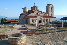 The Church of St. Kliment & St. Pantelejmon at Plaošnik in Ohrid, Macedonia