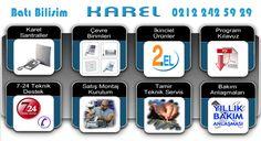 Batı Bilişim Karel Teknik Servis | Arıza, Servis, Bakım, Onarım hizmetleri http://www.batibilisim.com/karel-teknik-servis/