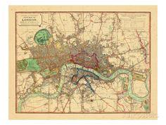 1818, London, United Kingdom Giclee Print at AllPosters.com