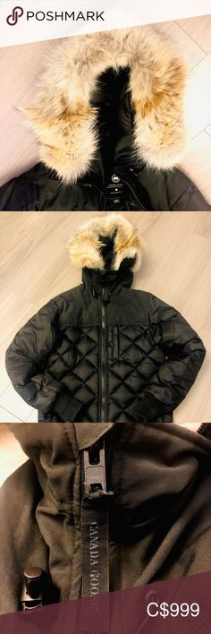 Canada Goose Men's Pritchard Coat Black Label (XS) One Year Old, Plus Fashion, Fashion Tips, Fashion Trends, Canada Goose Jackets, Fill, Windbreaker, Label, Winter Jackets