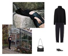 """""""i know"""" by tina-gadze ❤ liked on Polyvore featuring Uniqlo, Reebok and Loewe"""