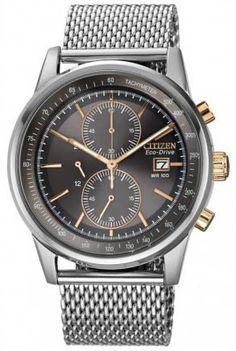 CA0336-52H - Authorized Citizen watch dealer - MENS Citizen CHRONOGRAPH, Citizen watch, Citizen watches