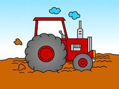 tractor drawing for kids to color - Google Search