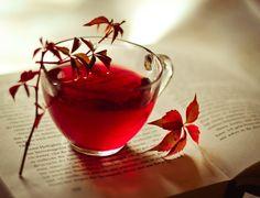 Red Tea by Silvermoonswan.deviantart.com on @deviantART