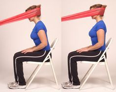 Will have to look into this later. a… Thera-Band Cervical Extension. Will have to look into this later. a… – dövüş sporu masaj – Fit Board Workouts, Easy Workouts, At Home Workouts, Workout Board, Pilates, Workout Belt, Workout Abs, Workout Exercises, Fitness Exercises