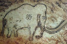 (imagine hunting this! - p.mc.n.) Prehistoric Cave painting | 35000 years ago | Ancient Art History