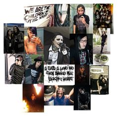 """""""We're The Damned..."""" by bvb666him ❤ liked on Polyvore featuring art"""