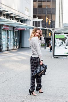 Put your party pants on | Katie Cassidy Street Style