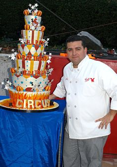 Circus cake made for Brittney Spears birthday - Cake Boss