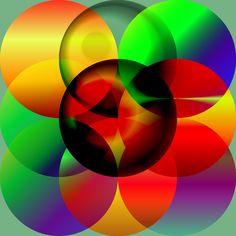 Crossed circles by Haystack Engineering  #art #illustration  #Geometric