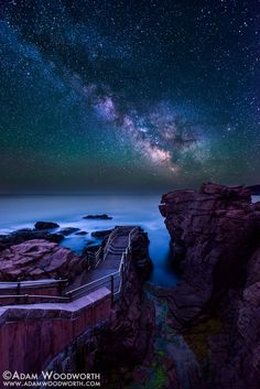 Thunder Hole by Adam Woodworth on 500px