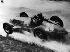 """The """"Maestro"""" Juan Manuel Fangio and the legendary Alfa Romeo 159 :: Alfa Romeo 159, Alfa Romeo Cars, Ferrari F12berlinetta, Grand Prix, Nissan 370z, Lamborghini Gallardo, Maserati, Bugatti, Racing F1"""