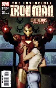 Iron Man Vol. 4 # 5 by Adi Granov