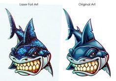 Shark Temporary Tattoo Comparison