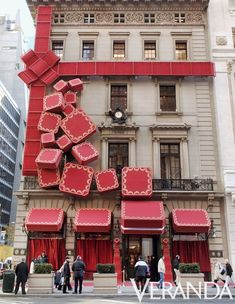 Cartier Red Bow Unveiling to Kick Off the Holiday Season in NYC
