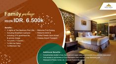 3D/2N Family Package IDR 6.500K  Terms & Conditions :  Minimum stays of 2 nights at Two Bedroom Pool Villas Booking & Stay Periode valid  until June 30th, 2018 Inclusions are not redeemable in cash  For More Information Please Contact : reservation@villakayuraja.com www.villakayuraja.com #bali #family #packages #holiday #seminyakvillas