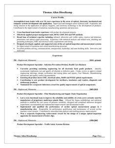 Tom Disselkamp resume by Tom Disselkamp via slideshare