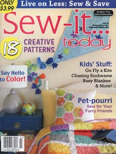Sew-it... Today - February/March 2014