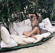 Beachwear / maiô e saída de praia / verão Outdoor Furniture, Outdoor Decor, Hammock, Shopping, Photos, Home Decor, Fashion, Beach, Girls Girls Girls