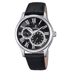 F6848/3 - Festina Classic Automatic Reloj Clásico Negro