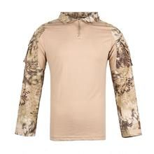 Men Combat Shirt Tactical Special Forces Camouflage Clothing Outdoor Training Military Uniform Adult Army Tops S Camouflage Clothing, Combat Shirt, Special Forces, Top Colour, Army, Military, Training, Wattpad, Long Sleeve