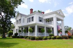 Wonderful, one-of-a-kind neoclassical home in historic Sylvania, Georgia. The historic Kittles Home was built around 1890 and has been beautifully maintained. Many of the original details remain including pocket doors, mantels, and tile. This is a once in a lifetime opportunity to own a part of history. The home is located on a 1/2 acre corner lot near downtown Sylvania.