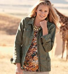 Safari -- nice casual jacket