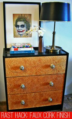 RAST Hack : Faux Cork Finish How-To | Comfort and Joy: An Interior Decorating and Lifestyle Blog