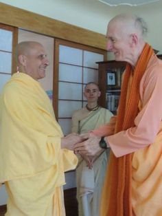 HH Radhanath Swami at the Denver Hare Krishna Temple (video) Srila Prabhupada: Nowadays people are very much inclined to the meditational process…