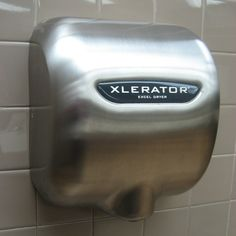 349e6dae1a4a Excel s Xlerator hand dryer is more efficient than previous designs. A  story of a green innovation. Discover