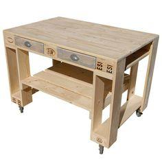Kitchen Cart, Home Decor, Garden, Patio, Kitchen Island Table, Bar Made From Pallets, Outdoor Grilling, Diy Garden Furniture, Homemade Home Decor